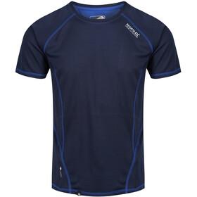 Regatta Virda II T-Shirt Men Navy/Surf Spray